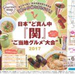 日本ど真ん中『関』ご当地グルメ大会 2017