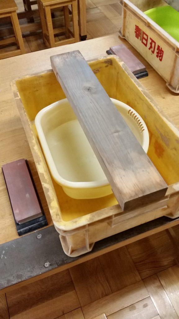 刃物セミナー 包丁研ぎ