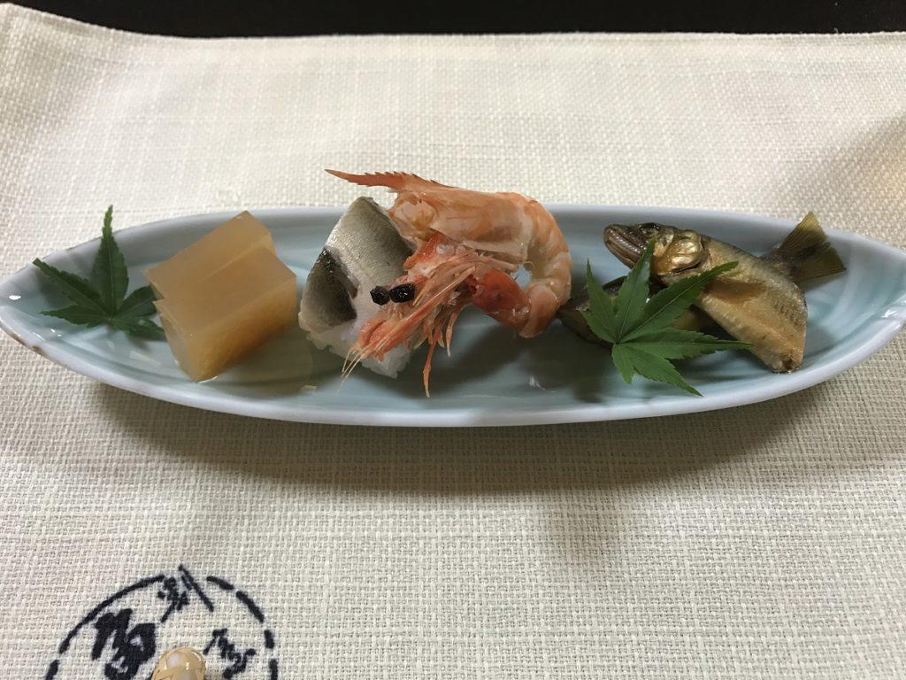 関市の魚国 前菜