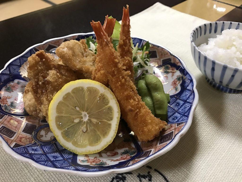 関市の魚国 こどもメニュー