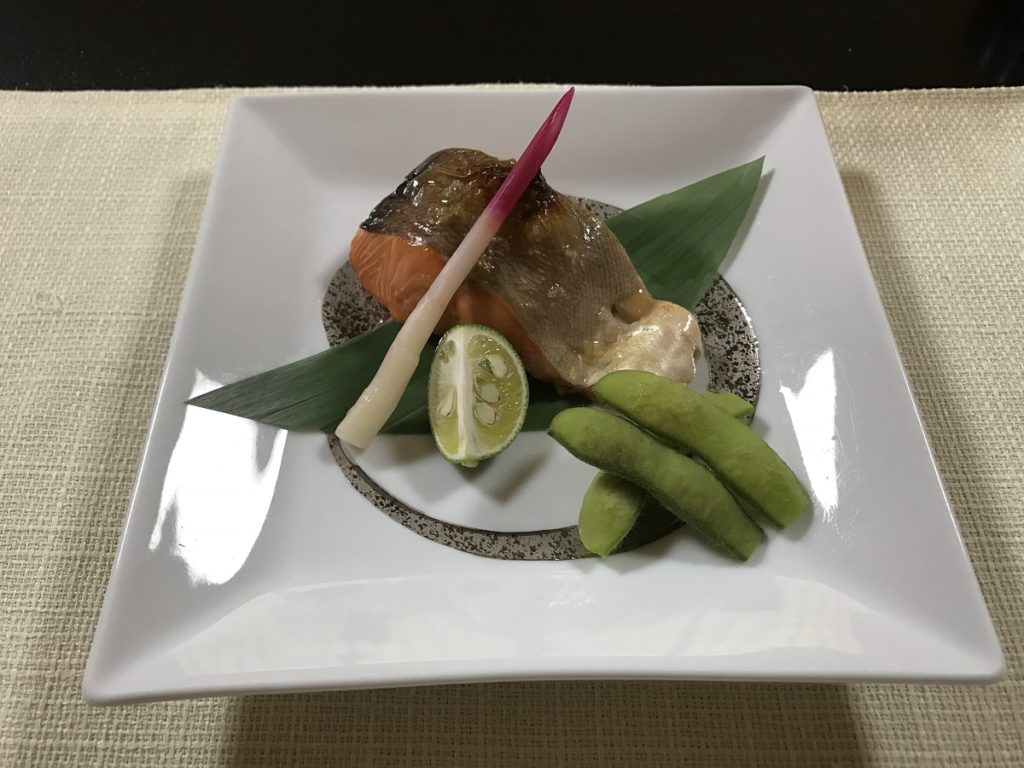 関市の魚国 焼き物