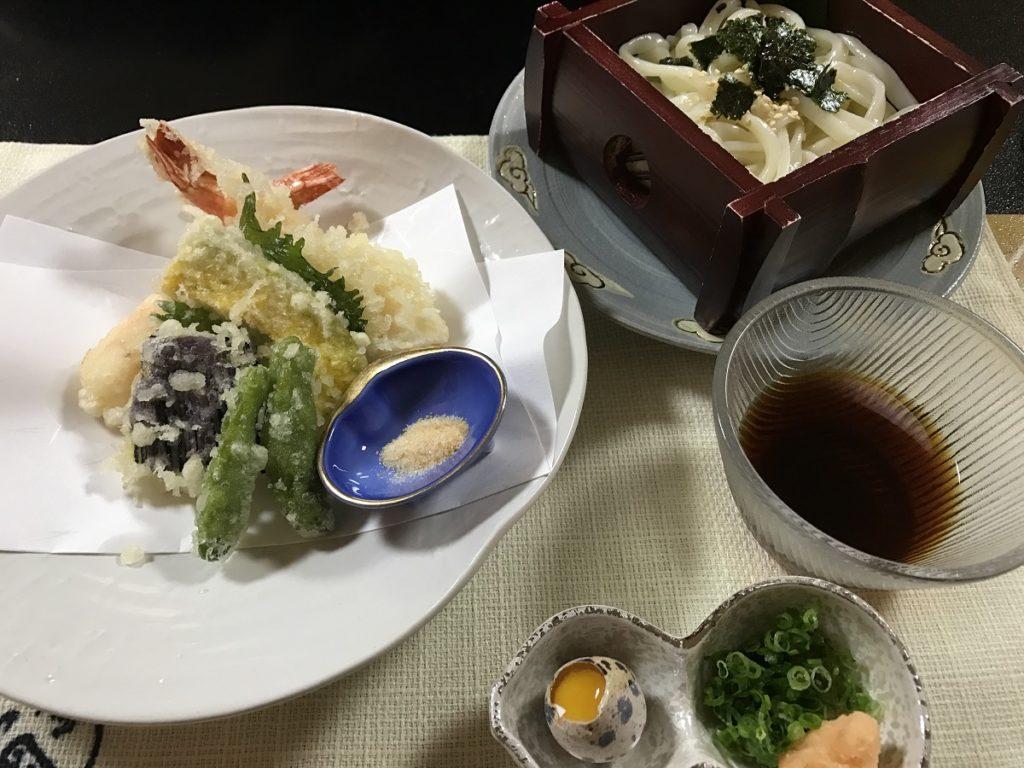 関市の魚国 〆のうどん