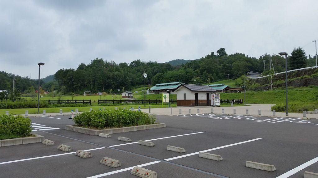 関市 中池ファミリーパーク 駐車場