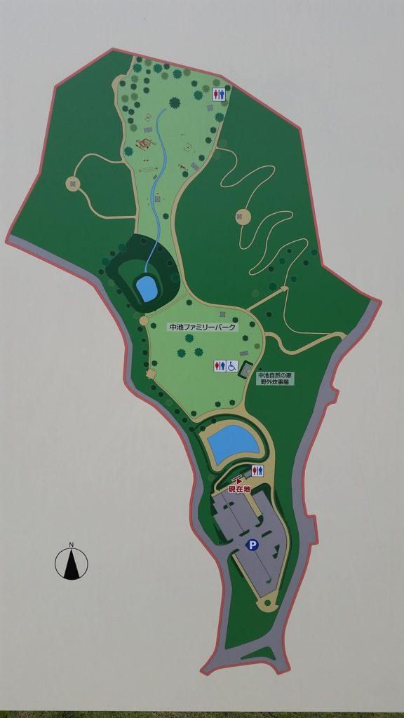 関市 中池ファミリーパーク 地図