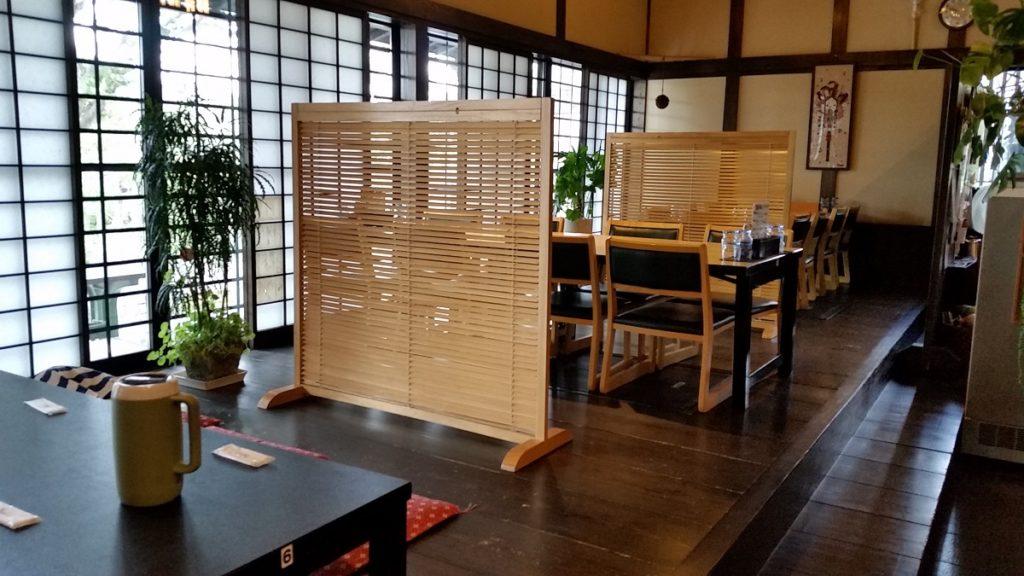 濃州関所茶屋 店内