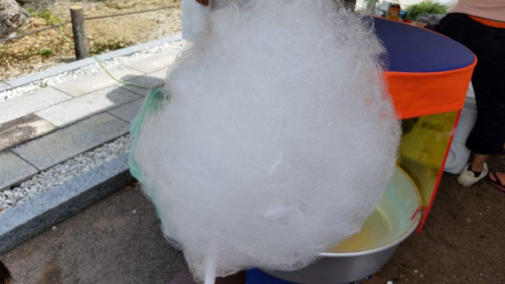 大雲寺 供養祭 綿菓子