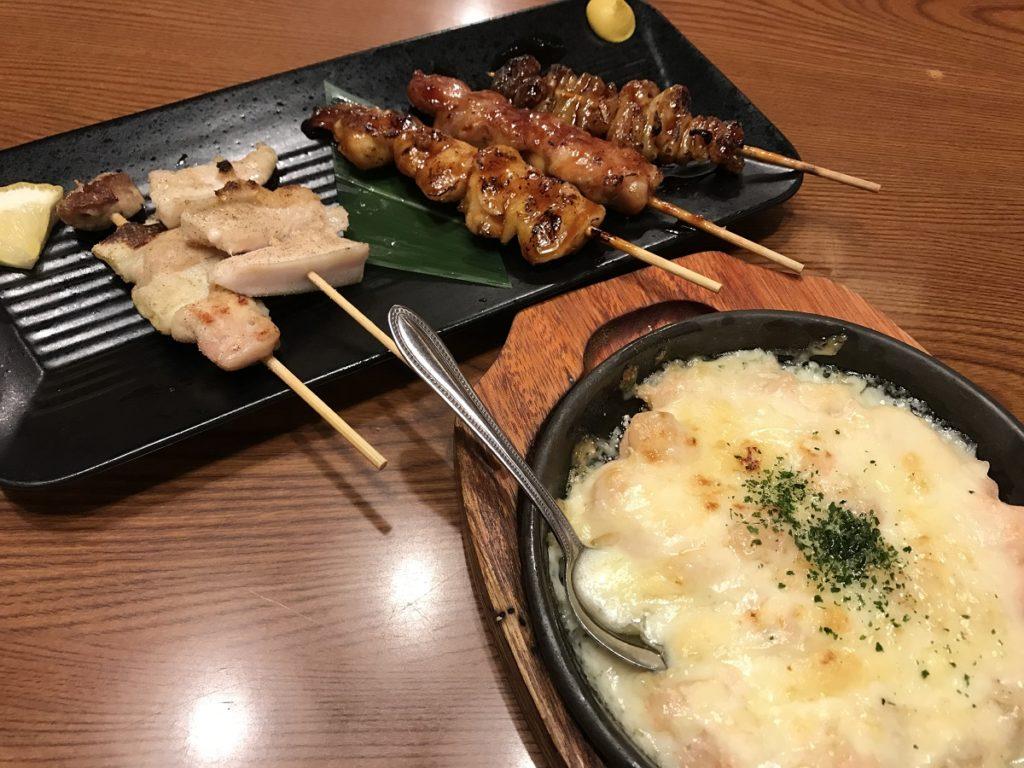 関市の神楽(かぐら) 串盛り