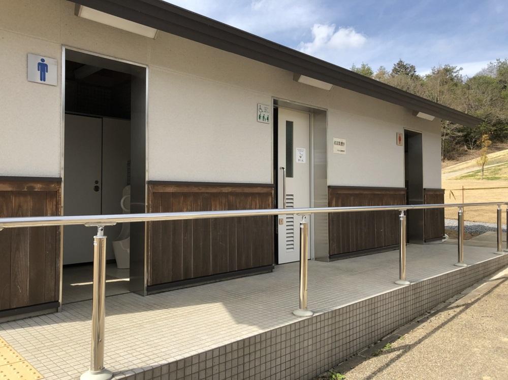 関市 中池公園 ファミリーパーク みんなのトイレ