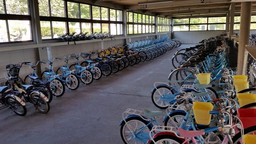 百年公園サイクリング レンタル自転車
