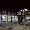 富加町南公民館の公園には屋根がある <富加町>