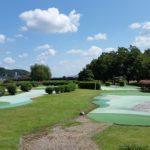 武芸川スポーツ公園でパターゴルフ<関市>