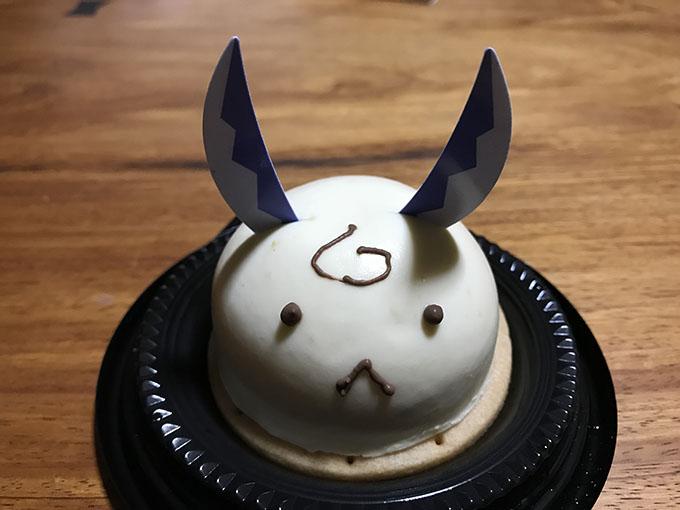 はもみケーキ しろいの くろいの