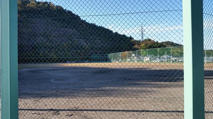 関市十六所公園 グランド