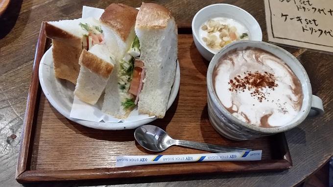 美濃町家 Mam's(マムズ)サンドイッチセット