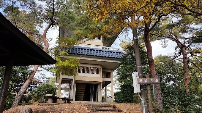 小倉公園 展望台 お城