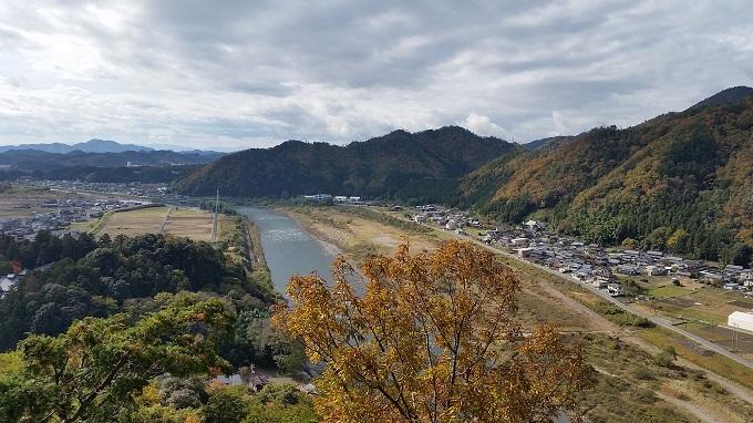 小倉公園 展望台 長良川