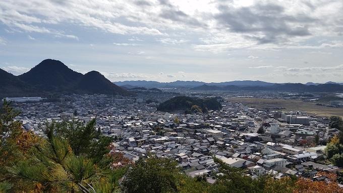 小倉公園 展望台 美濃市