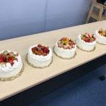 MINOVのデコレーションケーキ教室に参加