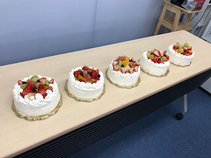 MINOV(ミノーヴ)デコレーションケーキ教室 みんなのケーキ