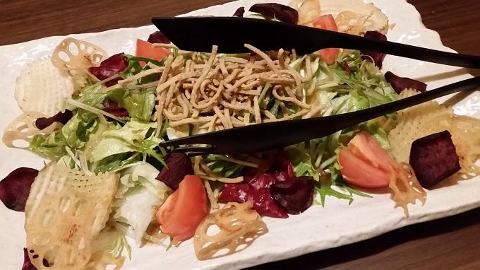 個室居酒屋 GOMAYA(胡麻や)長良店 ぱりぱり野菜とカリカリ野菜