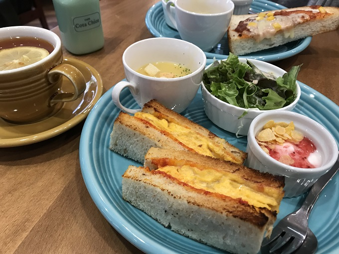 Cafe Cota chiot(カフェ コタシオ)モーニング
