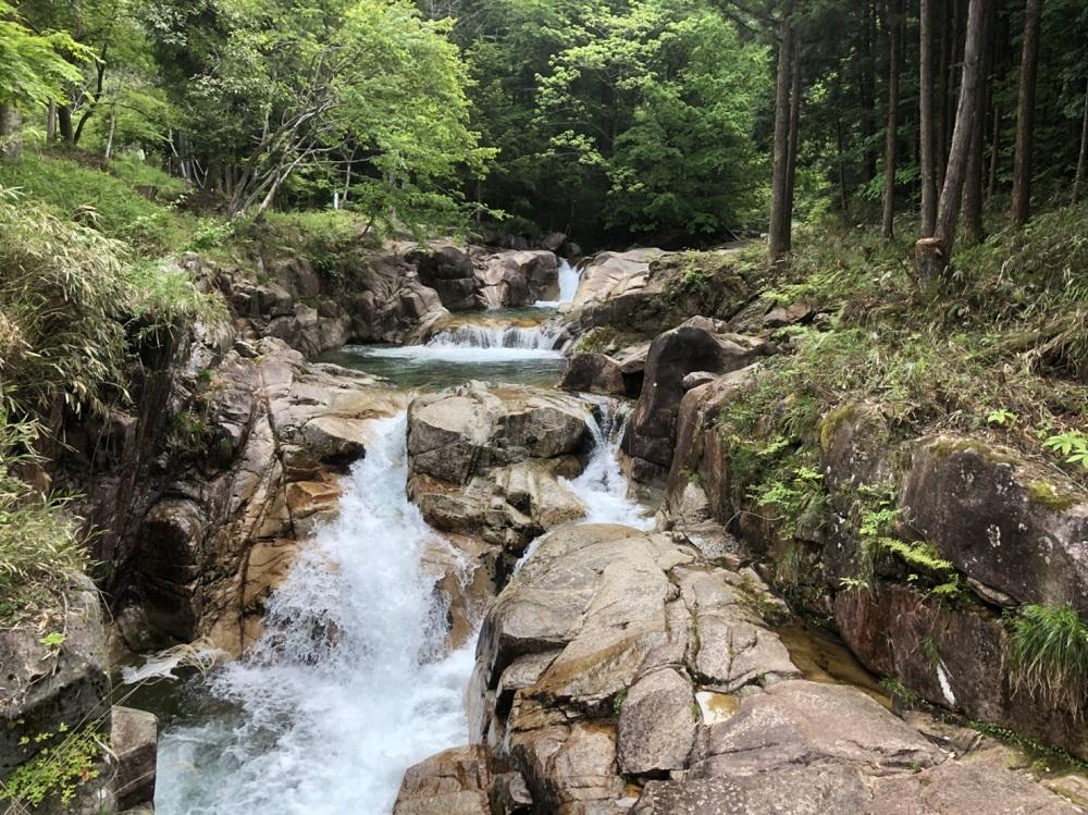 モネの池周辺観光スポット 高賀渓谷
