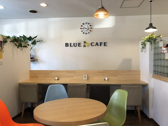 Blue Cafe(ブルーカフェ) 店内