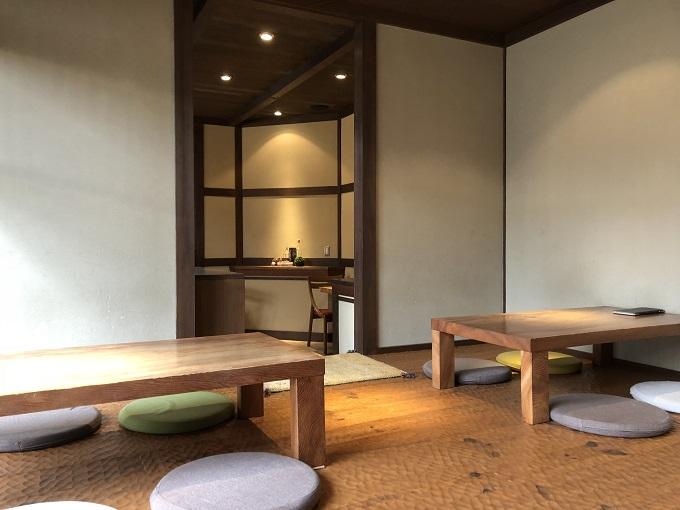 nagara tatin cafe(ナガラタタンカフェ)お座敷席
