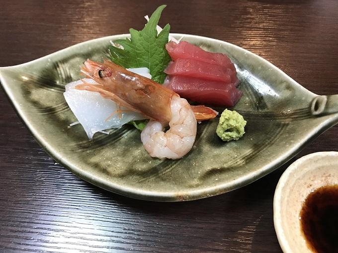 海鮮や じゅらく 刺身