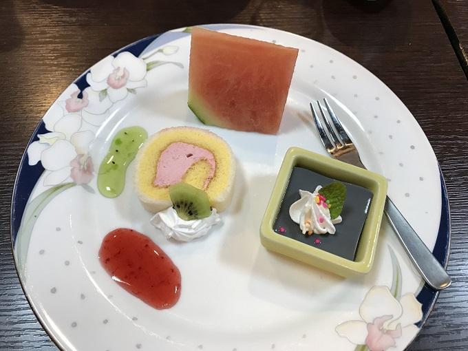 海鮮や じゅらく デザート