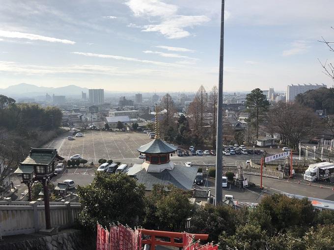 犬山成田山 大駐車場