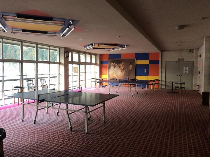 下呂温泉 山形屋 卓球場