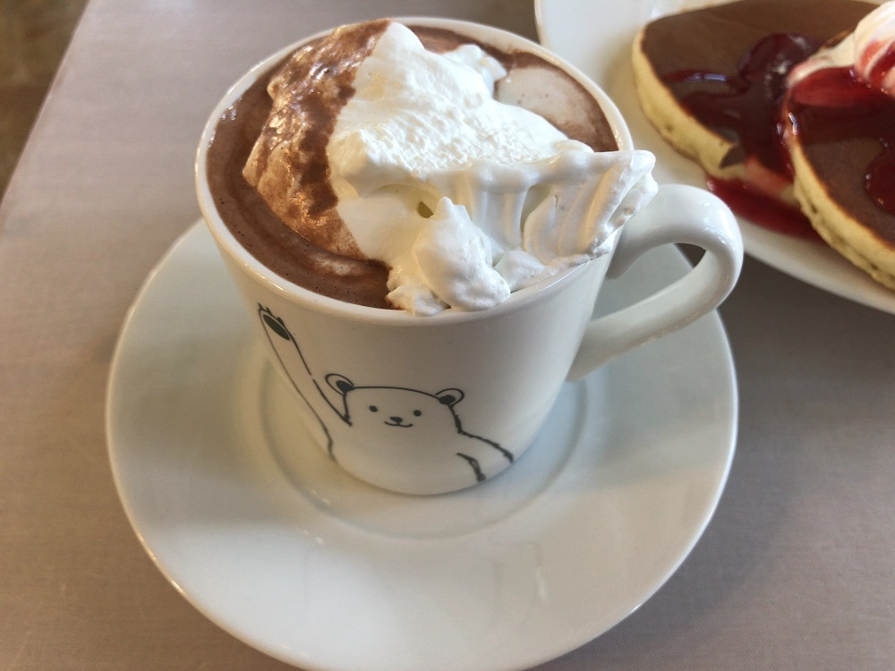 カフェ ココバード ホットココア
