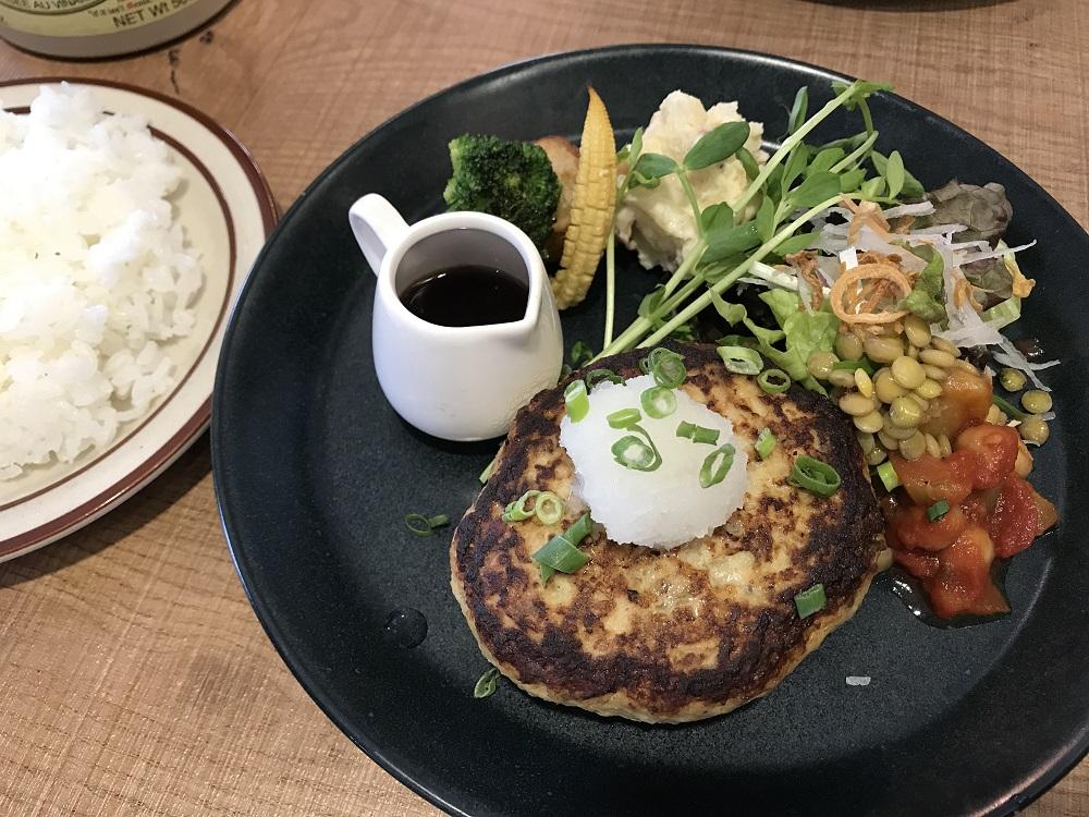 カフェ コタシオ ハンバーグランチ