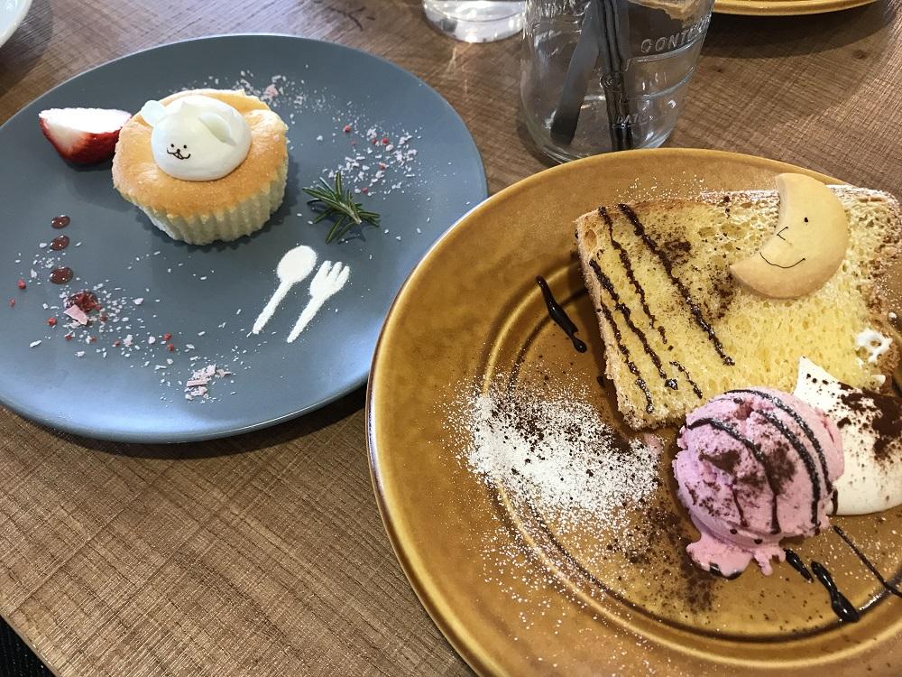 カフェ コタシオ デザート