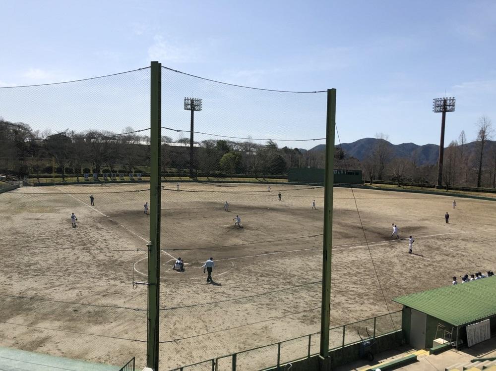 美濃加茂市前平公園 野球場