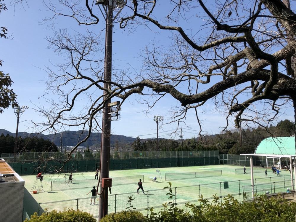 美濃加茂市前平公園 テニスコート