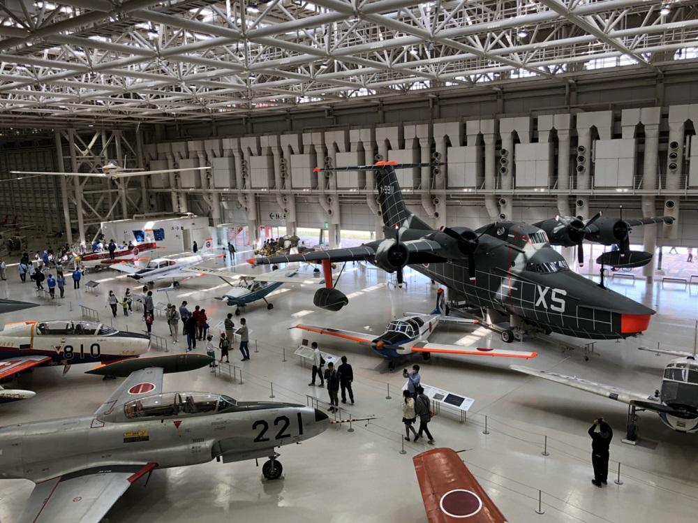 【空宙博(そらはく)】岐阜かかみがはら航空宇宙博物館 飛行機