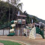 岐阜公園の新しい遊具広場「ちびっこ天下広場」で遊ぶ<岐阜市>
