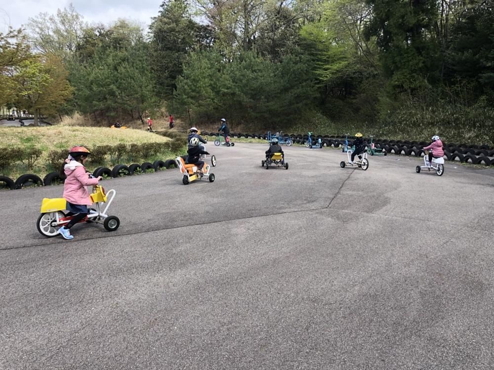 ぎふ清流里山公園 おもしろ自転車