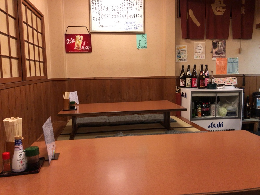 居酒屋甚八 <関市> テーブル席