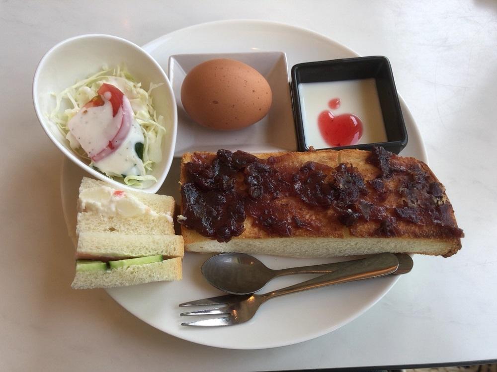 珈琲とサンドウィッチの店 cafeクローバー モーニング