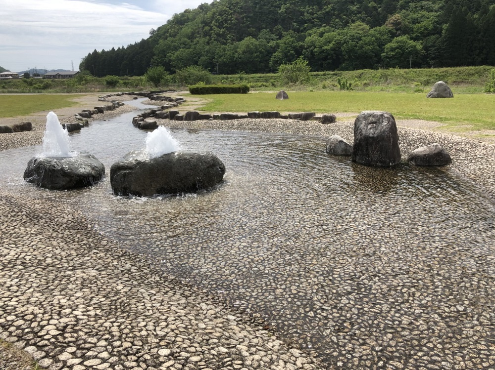 谷口水辺公園 水の広場