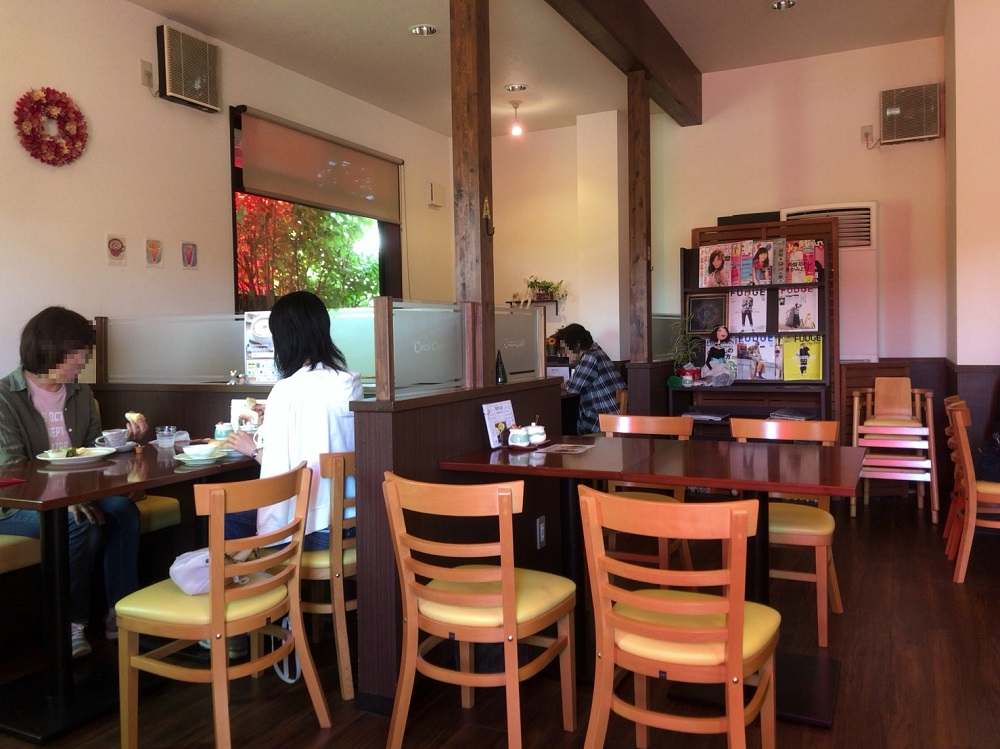 Cocu Cafe(コクーカフェ)<関市> 店内
