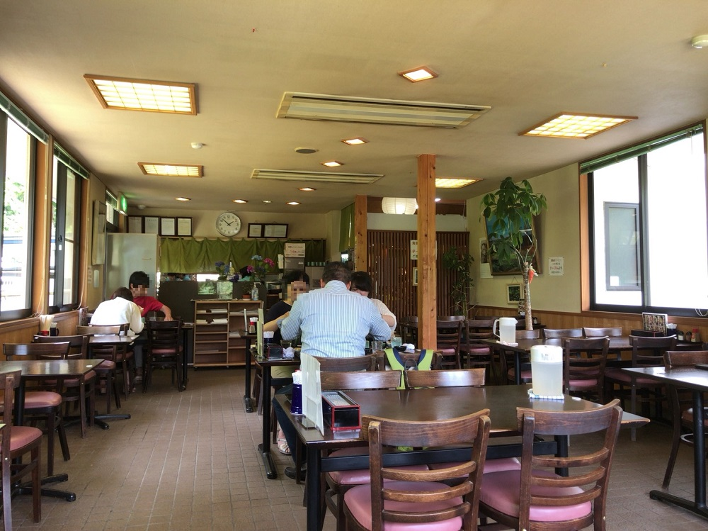 道の駅ラステンほらど レストラン