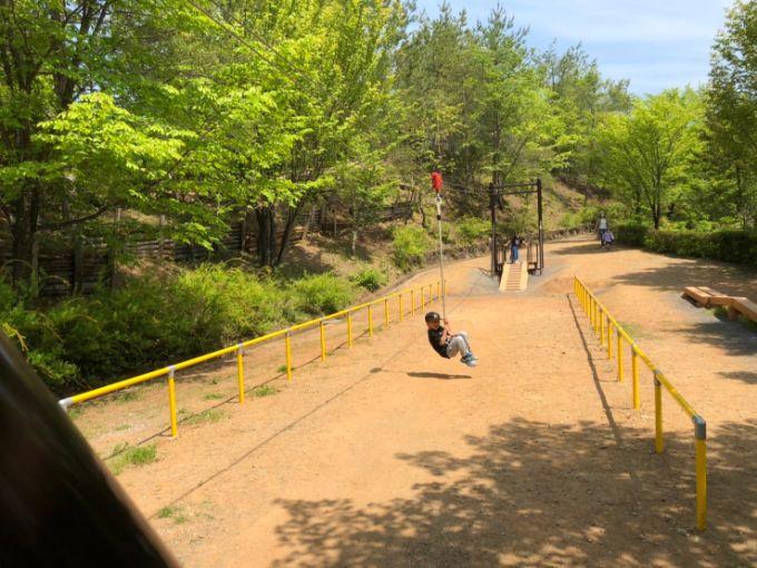 美濃加茂健康の森公園 アスレチック