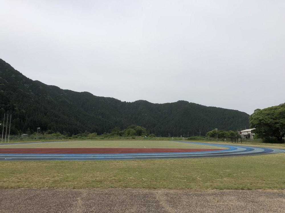 関市洞戸運動公園 陸上競技場