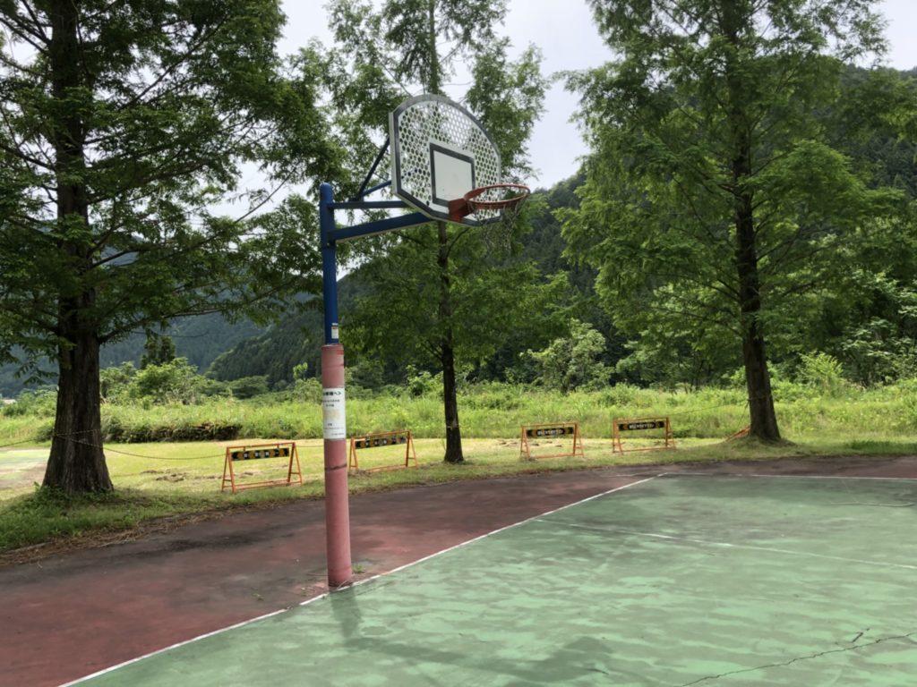 関市洞戸運動公園 ストリートバスケットコート
