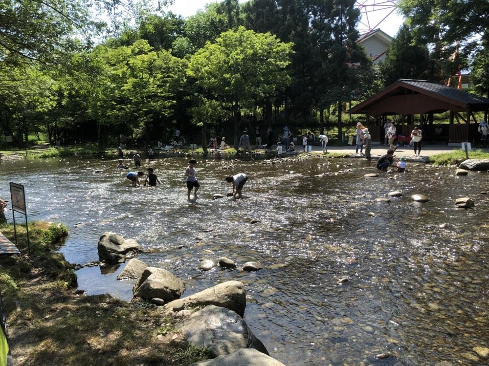 木曽川水園 水遊び