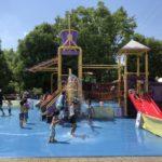 オアシスパークの遊具と夏には楽しい水遊びスポット<各務原市>
